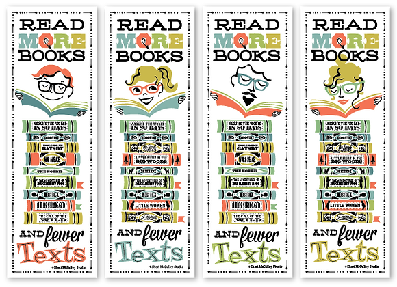Read more books bookmarks