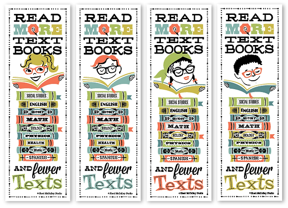 Read more textbooks bookmarks