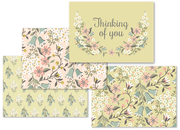 Flora Bella card set