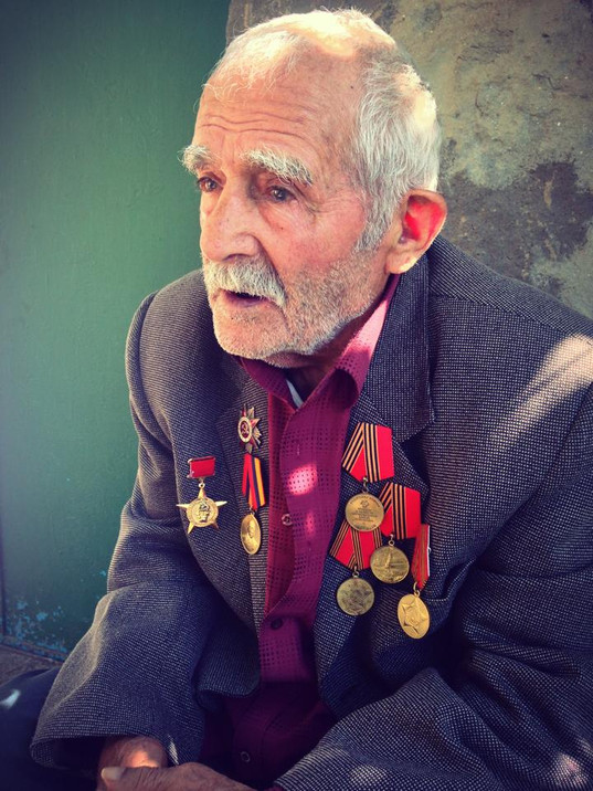 One of the last remaning veterans of World War II, Armenia