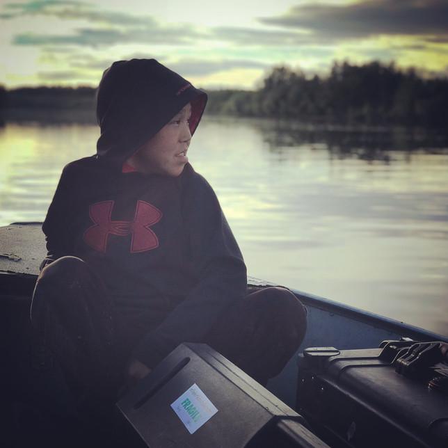Crew assistant, rural Alaska