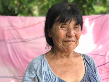 Shaman's sister, Shibipo village, Peruvian Amazon