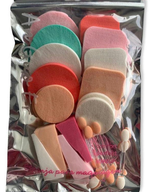 Set esponja maquillaje