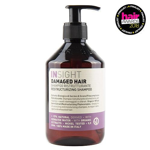 Shampoo reestructuran cabello dañado 400 ml iSight