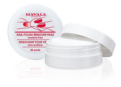 Mavala Nail Polish Remover Pads 30un
