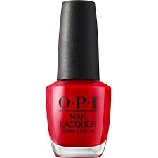 OPI-COLOR BIG APPLE RED