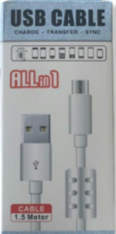 Cable android a usb