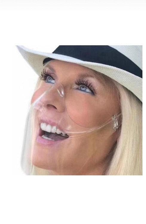 Mascarilla Acrilico facial transparente (confort)
