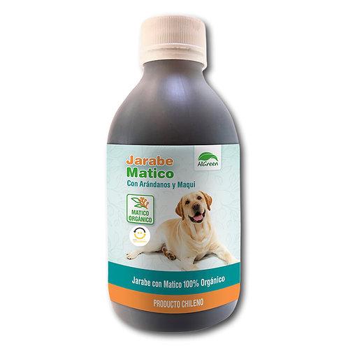Jarabe de Matico con Arándanos y Maqui 250 ml