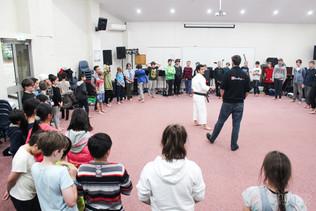 Karate Workshop with Mr Dylan