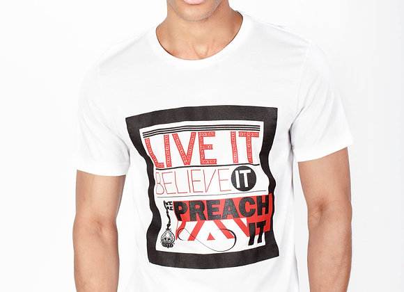 LIVE IT BELIEVE (WHITE)