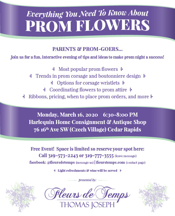 Prom Flowers Workshop