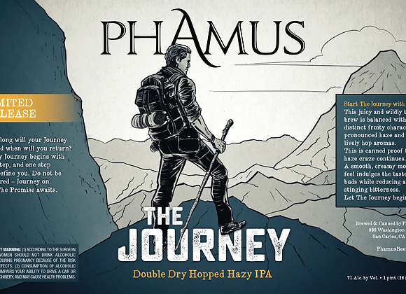 The Journey - DDH Hazy IPA