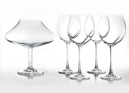 Wine Glass & Decanter Set