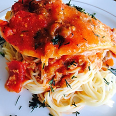 Orange Roughy & Angel Hair Pasta