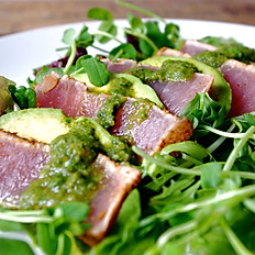 Seared Ahi & Arugula Salad