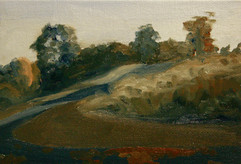 Landscape Study Blue/Orange