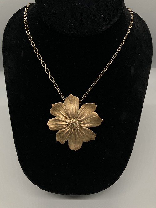 Cosimo Pendant in Bronze by Harriet Taylor-Thorpe