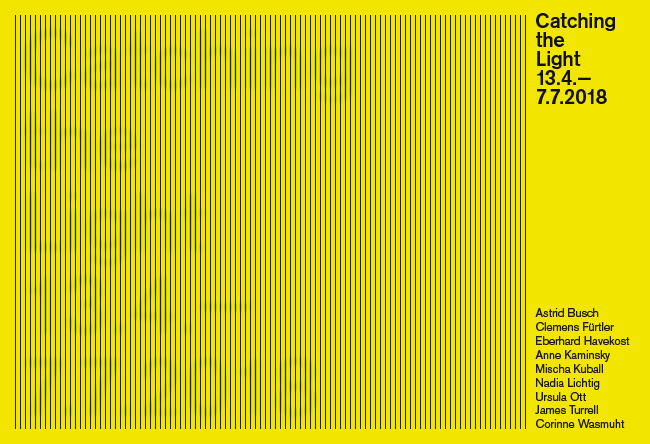 Catching the Light (flyer), 2018