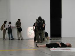 Performance, Secession, Vienna, Austria, 2003