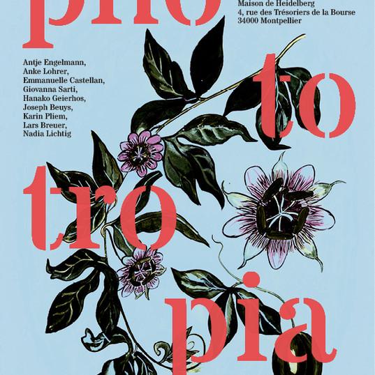 Phototropia (poster), A3, 2018