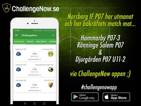 Här är Norsborg IF's kommande matcher via appen! Hammarby, Djurgården &...