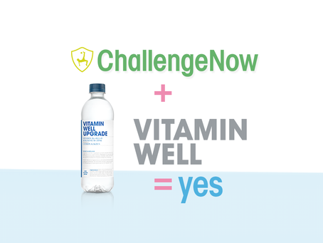 Vitamin Well + ChallengeNow = SANT!