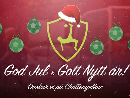En Julhälsning från oss!