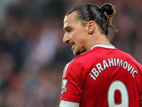 Zlatan säger adjö till Manchester United :(