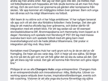 Inkludera.se har Intervjuat en av grundarna till ChallengeNow =)