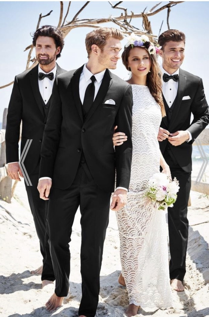 Sterling Weddin suit- Micheal Kors Style