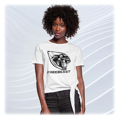 PANTHER - T-shirt à nœud Femme.jpg