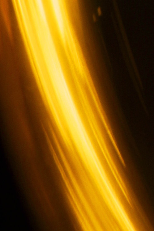 YELLOW FLASH - 2012 - 100X50 CM - Alu-Dibond brillant