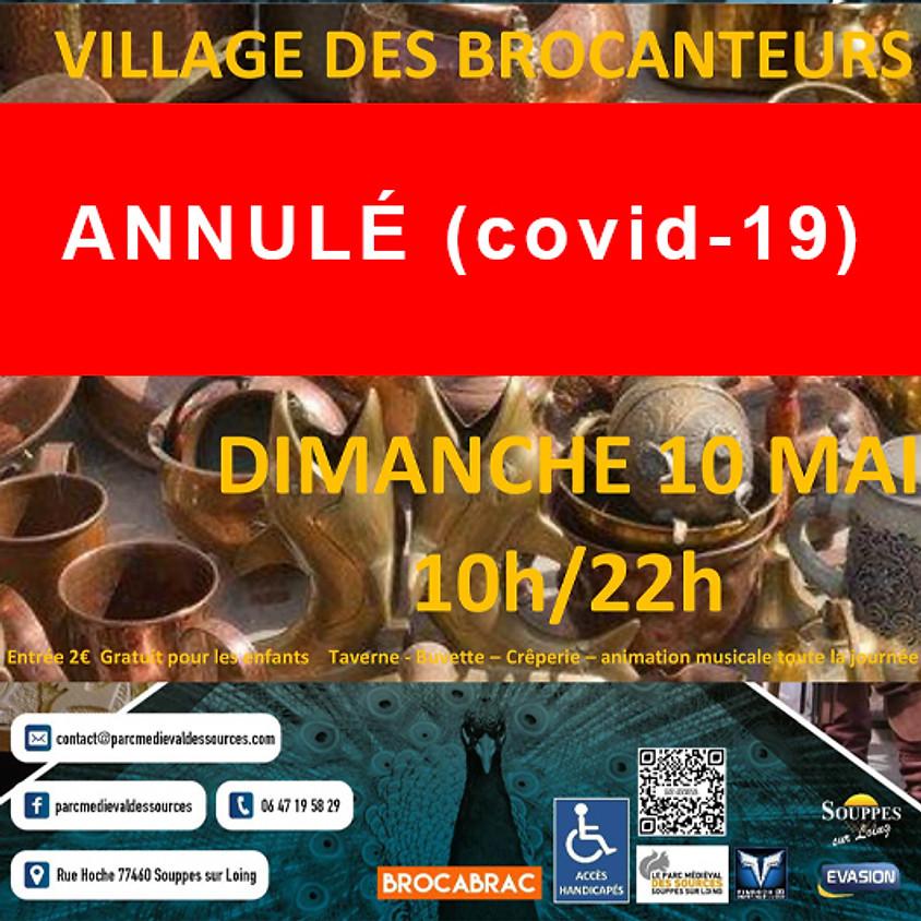 (ANNULÉ Covid-19) VILLAGE DES BROCANTEURS - Parc Médiéval des Sources