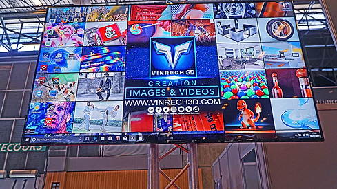 Stand VINRECH 3D à JAPAN EXPO 8 juillet 2017