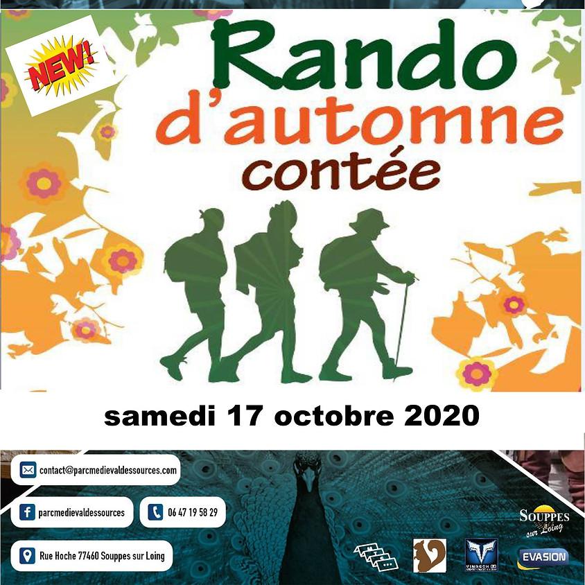 RANDO D'AUTOMNE CONTEE - Parc Médiéval des Sources