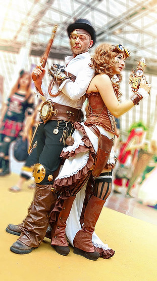 COSPLAYERS - Japan Expo