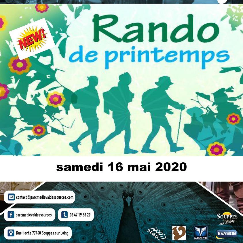 RANDO DE PRINTEMPS - Parc Médiéval des Sources