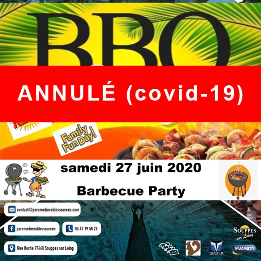 (ANNULÉ Covid-19) BBQ PARTY - Parc Médiéval des Sources