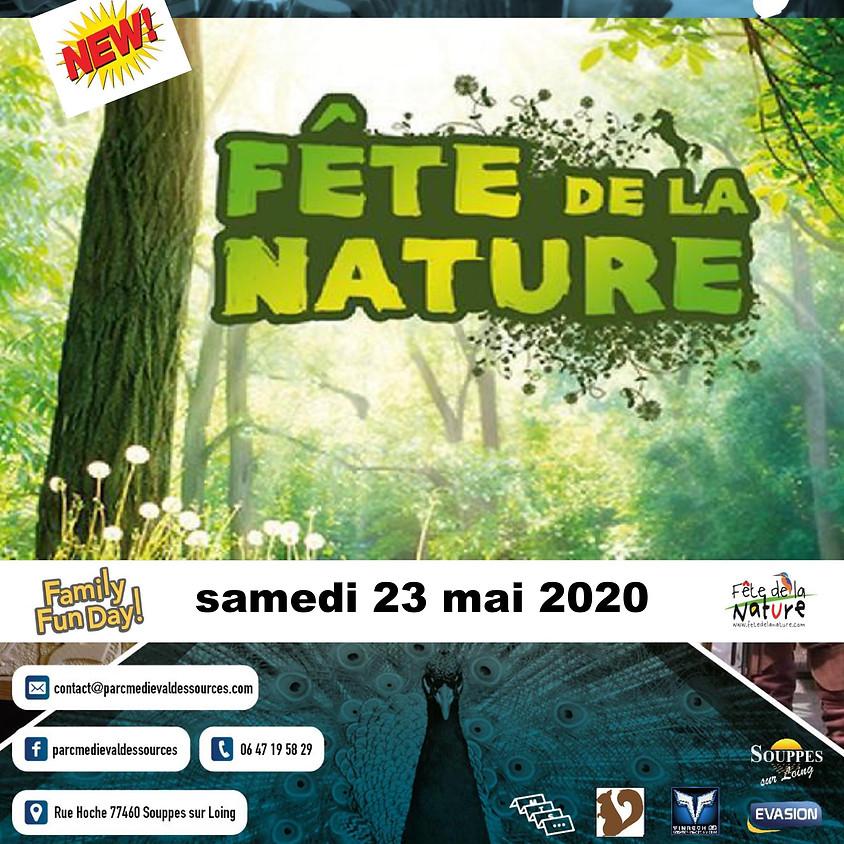 FÊTE DE LA NATURE - Parc Médiéval des Sources