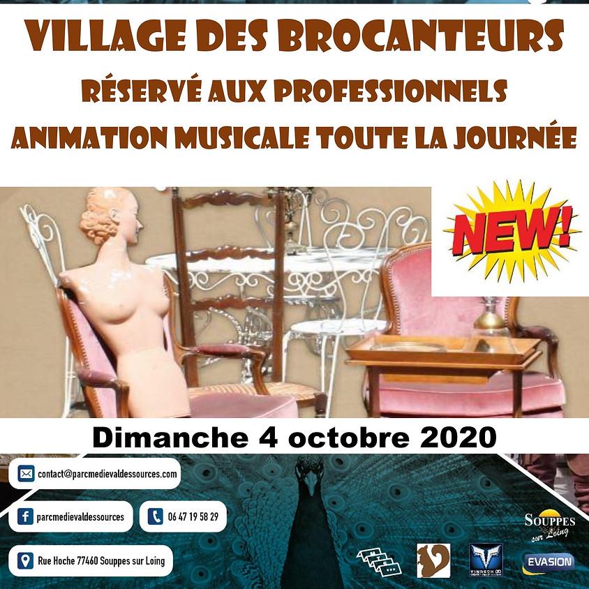 VILLAGE DES BROCANTEURS - Parc Médiéval des Sources