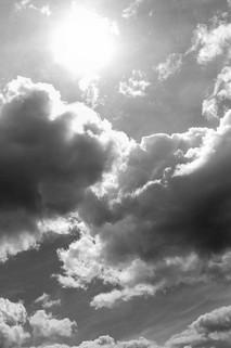 SKY & SUN - Noir & Blanc