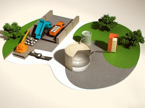 IMAGES 3D - AMIANTE