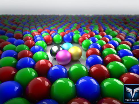 RVB & CMJN balls