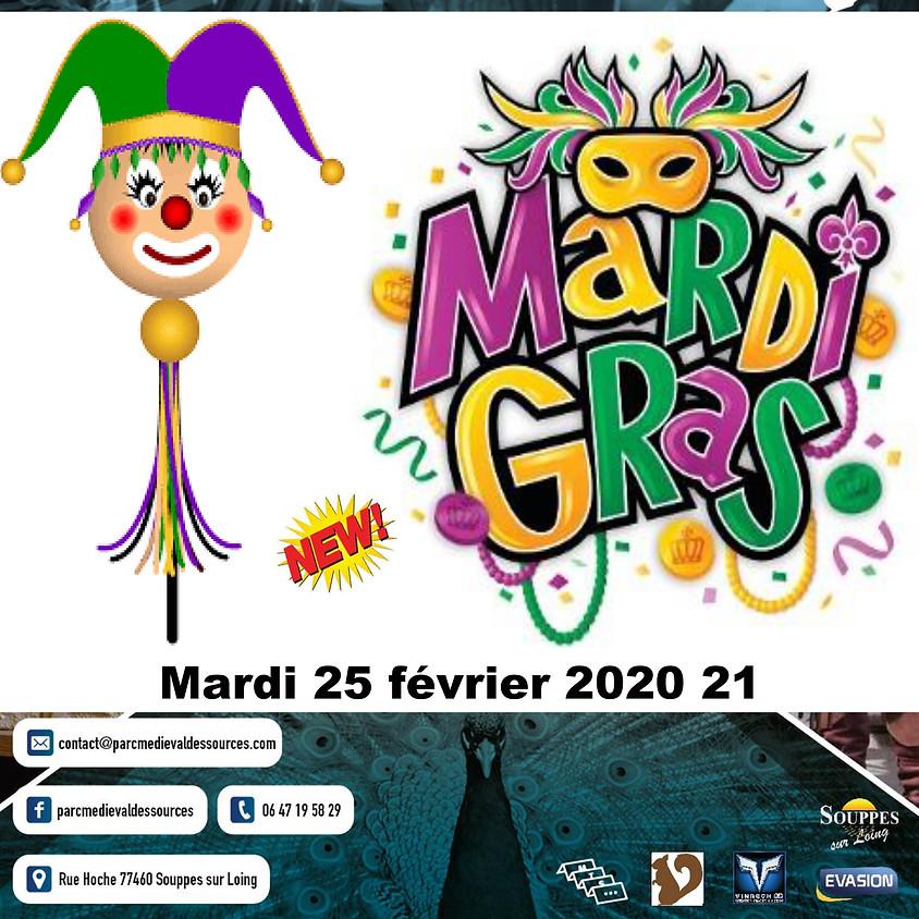 MARDI GRAS - Parc Médiéval des Sources