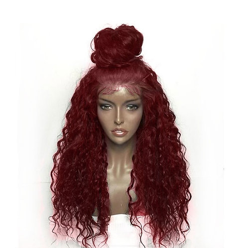 "Red wavy wig ""Red Robin"""