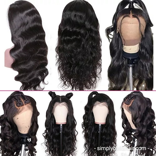 360 frontal wig 24in
