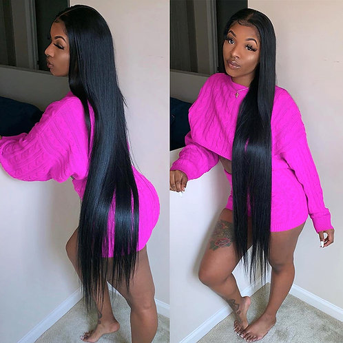 Hollywood straight wig 34in