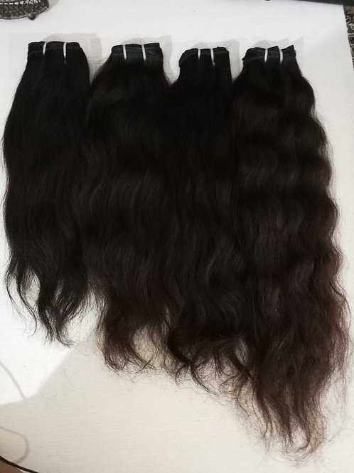 Bella Silk Indian wavy (raw non processed)