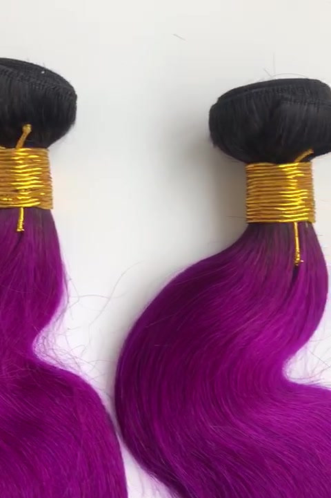 Purple bundles